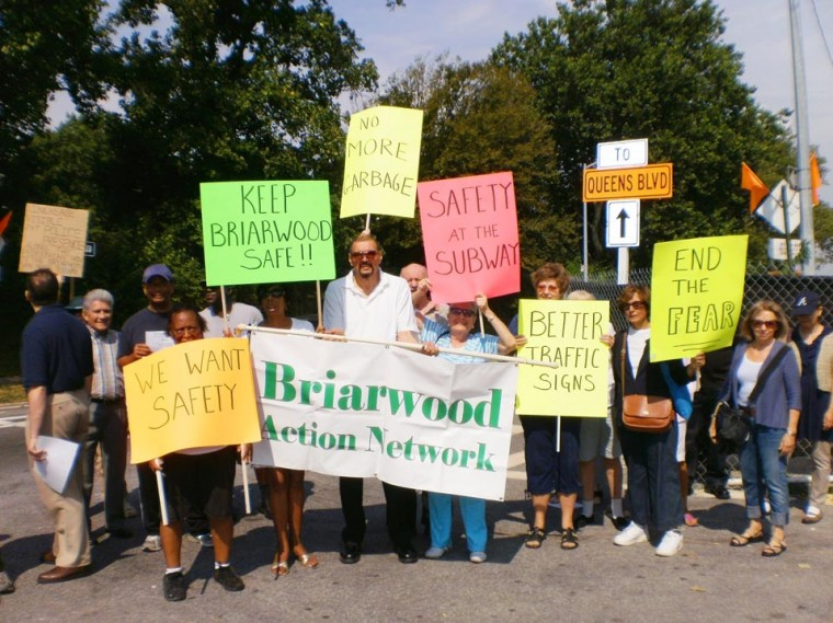 Briarwood takes on  DOT at Van Wyck Expressway 1