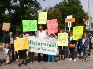 Briarwood takes on  DOT at Van Wyck Expressway 1