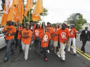 Marchers decry violence, seek change 3