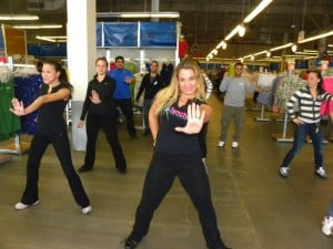 Zumba helps women stay in shape 1