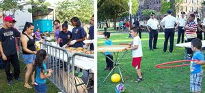 103rd Precinct's anti-crime event brings out residents to Rufus King Park