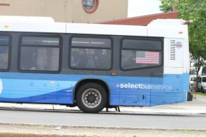 Select bus skepticism along Woodhaven Blvd. 3