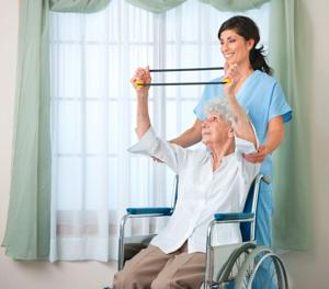 <p>A home health aide can provide a senior with services such as helping take medication, food preparation and other daily activities.</p>