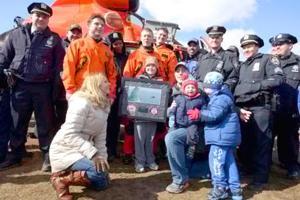 Coast Guard fulfills young boy's dream 2
