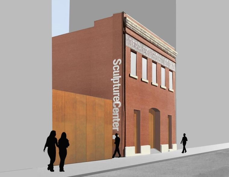 SculptureCenter breaks ground on expansion project 1