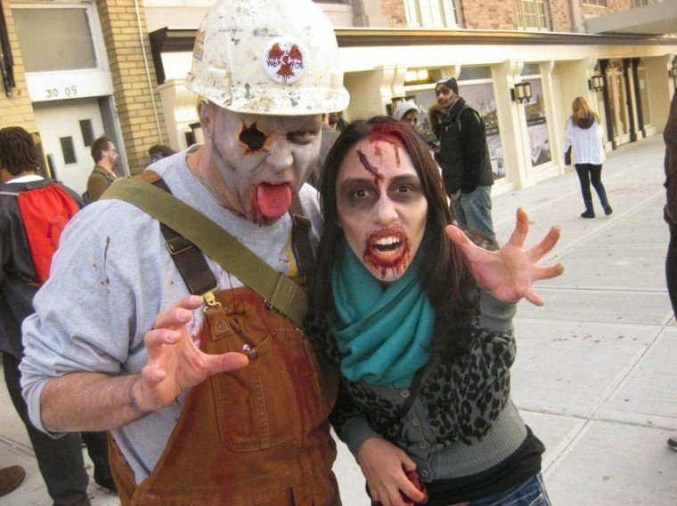 Zombies attack Astoria in annual Queens Thanksgiving Zombie Walk 2