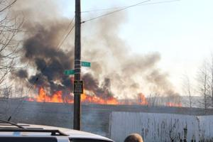 Spring Creek Park fire narrowly misses homes 2