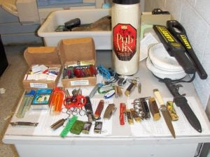 JFK weapon seizure 1