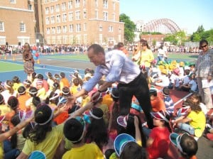 PS 122 unveils new playground 1