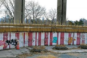 Graffiti headache at State Pavilion 1