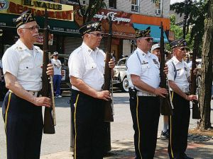 Parade celebrates 75 years of history 1