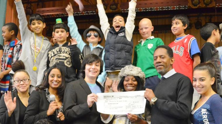 PS 115 kids raise funds for veterans 1