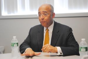 Thompson touts job-creation plan in LIC 2