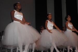 Celebrating MLK through song, dance, word