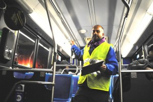 Resident on a mission to improve bus service