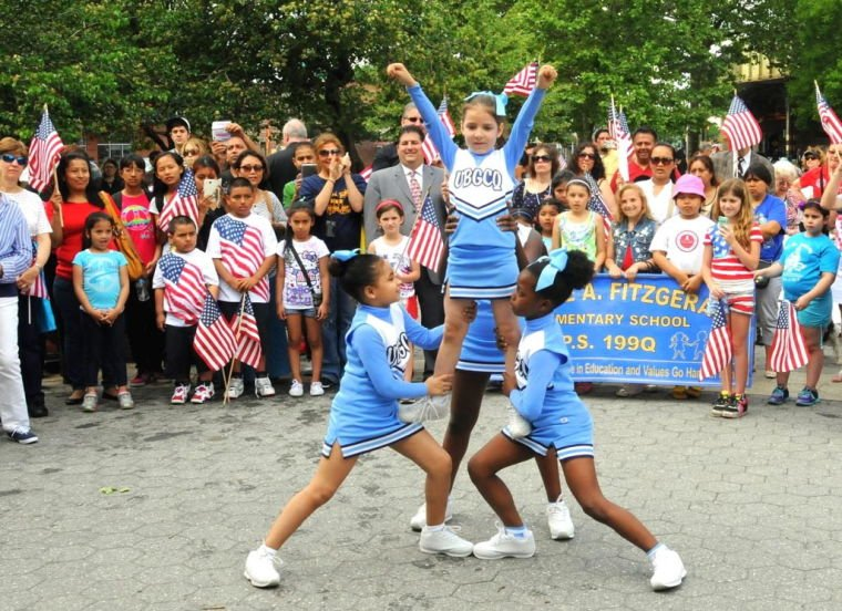 Sunnyside celebrates the Stars and Stripes