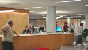 Mitchell-Linden gets larger library 1