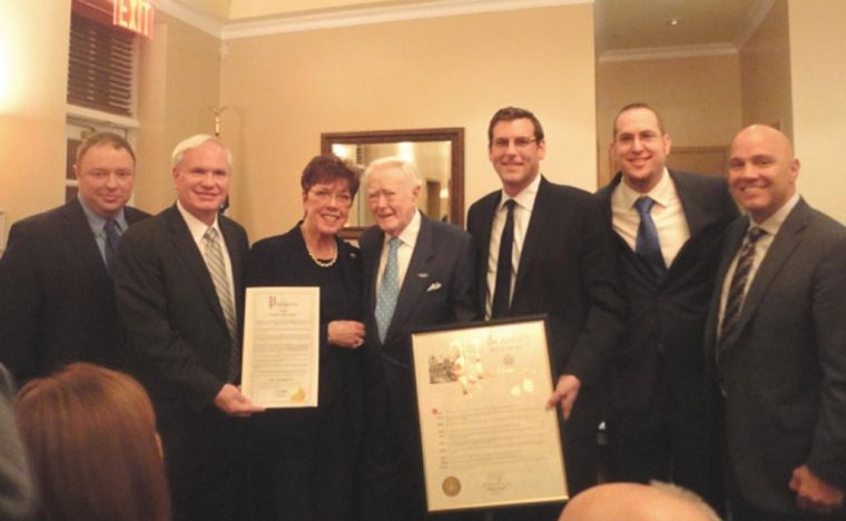 Whitestone vet honored 1