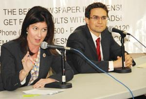 Elizabeth Crowley and Craig Caruana face off in sharp NYC Council debate