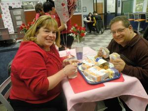 Romance was in the air at White Castle