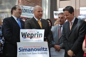 UFT endorses Weprin, Goldfeder and Simanowitz