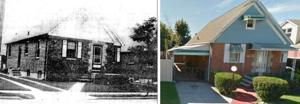 Lovely Rosedale, then and now 1