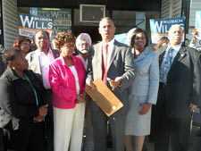 Ruben Wills kicks off City Council campaign
