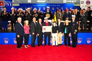 FDNY honors boro heroes from Sandy 1