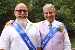 First gay couples marry in Queens
