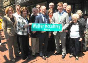 Street co-named for late councilman 1