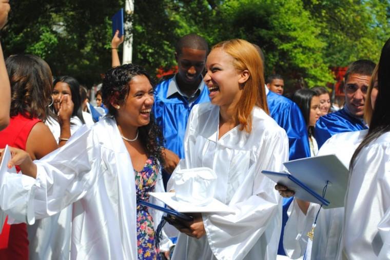 Celebrating graduates at John Adams High 2