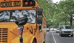 Union threatens citywide school bus strike