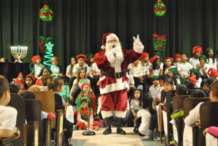 PS 153 celebrates the Christmas season in style 1
