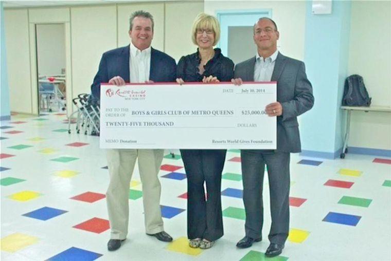 Boys & Girls gets $25K from casino 1