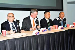Dem mayoral debate on schools and safety 1