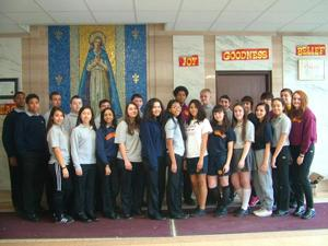Christ the King sophomores: one smart bunch 1