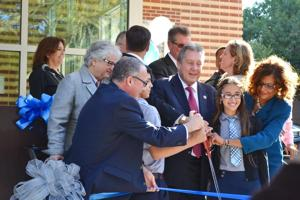 IS 230 cuts ribbon on annex 1