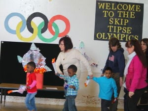 The Olympic spirit in Howard Beach