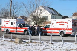 New ambulances for West Hamilton 1