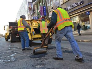 Flushing potholes called 'horrible' 1