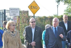 <p>State Sen. Tony Avella, gesturing, turned up the heat Tuesday under the Indian Cultural and Community Center and its application to the city for an apartment complex on a former portion of the Creedmoor Psychiatric Center property.</p>