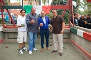 Bocce tournament rolls into Corona 3