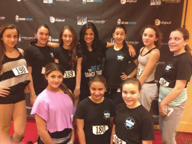 Fazio Dance students dance with 'The Beat Dance Tour' 1