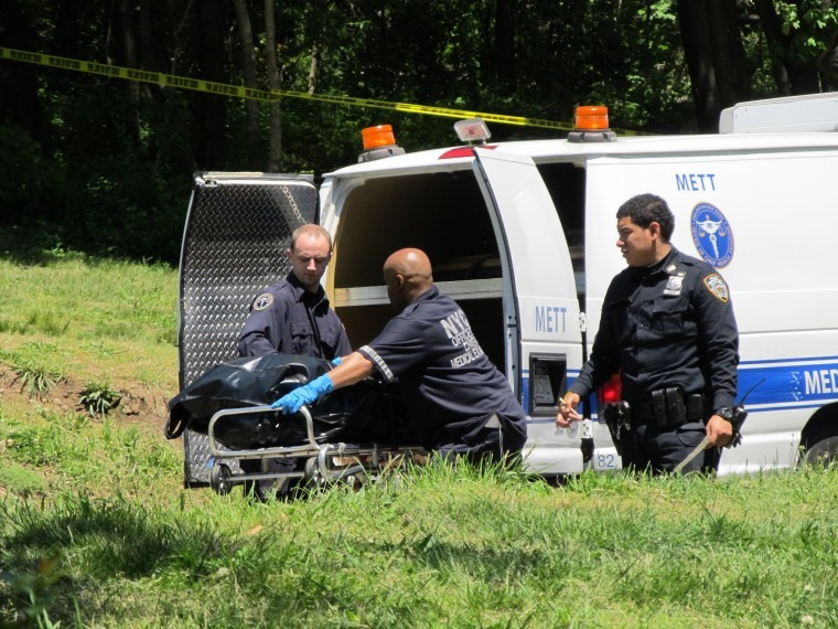 Burned body found in Woodhaven's Forest Park NYPD