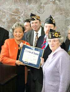 Veterans Honored On 60th Anniversary Of WW II's End