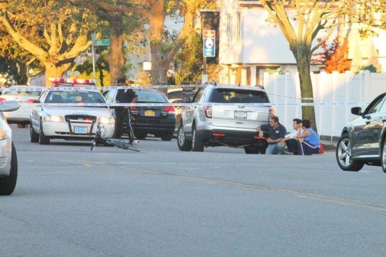 Bicyclist struck by car in Howard Beach