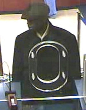 Bank robber sought 2