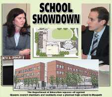 Council, Ed. Dept. clash on school