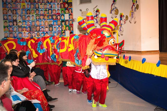 PS 203 celebrates Year of the Horse 4