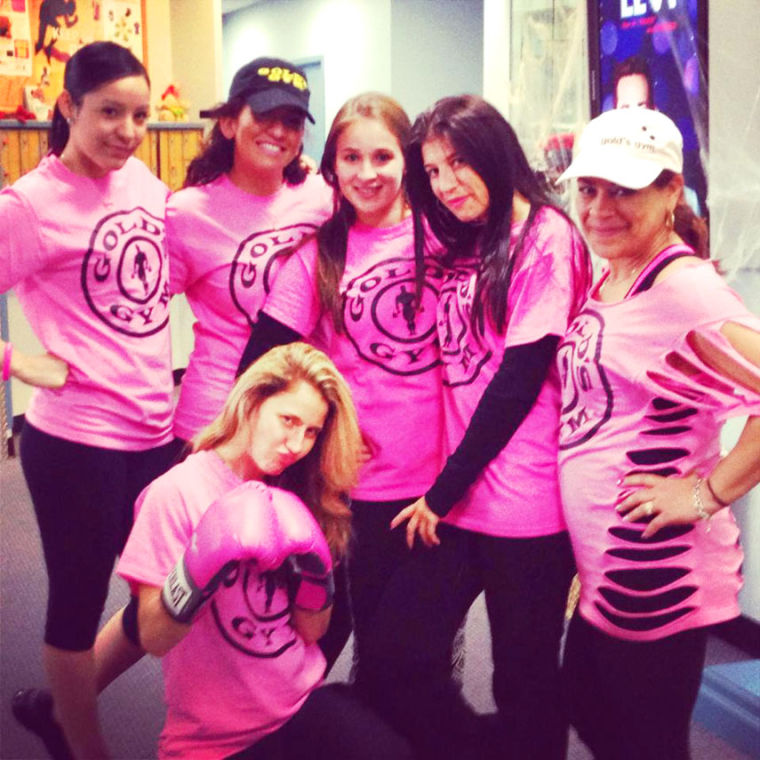 Gold's Gym fights cancer 2